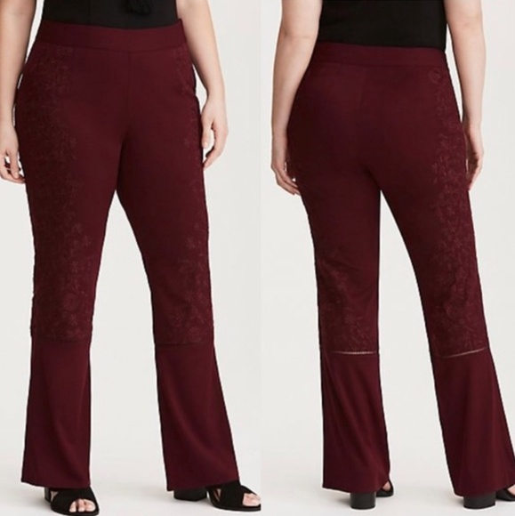 ce95bbf043a Torrid Insider Collection Embroidered Pants